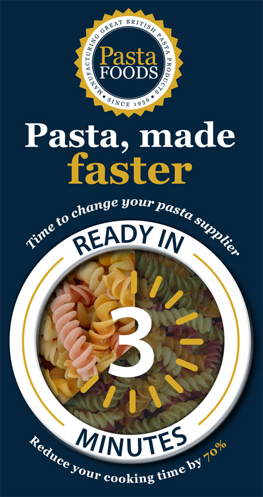 Pasta, Made Faster